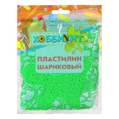 289-146 ХОББИХИТ Пластилин шариковый, полистирол, 19х14х1см, 55-60гр, 6-10 цветов