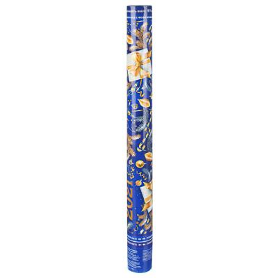 399-105 СНОУ БУМ Хлопушка пневматическая, 60 см, наполнитель фольга, дизайн 11