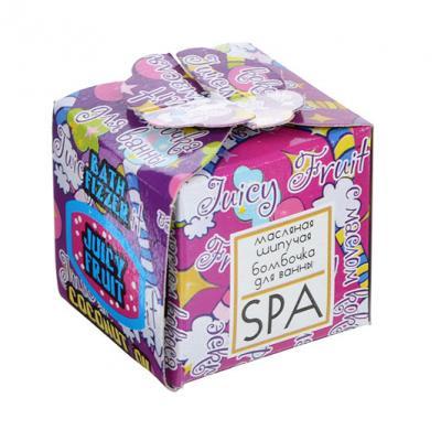 950-002 Соль шипучая SPA-уход, 40г, в подарочной упаковке, 3 вида, арт.15351