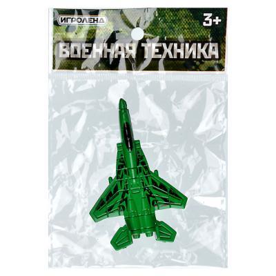 292-203 Игрушка в виде военной техники, пластик, 10х5х1см, 3 дизайна