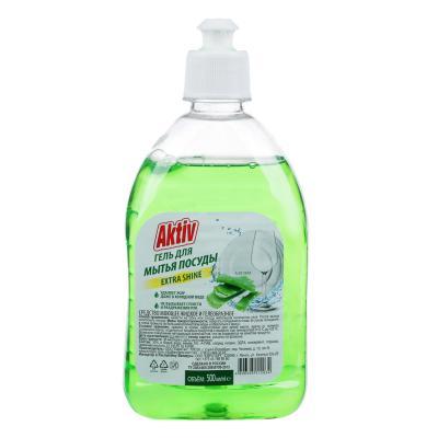 992-045 Средство для мытья посуды AKTIV/Радуга алоэ-вера/лимон/яблоко, 500мл,арт.см-2370,см-2371,1526.-п,137