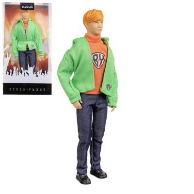 """267-830 Кукла """"Андрей Григорьев-Апполонов"""", 29 см, ABS, PVC"""