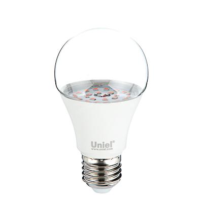 174-200 Лампа светодиодная для растений LED-A60-9W/SP/E27/CL ALM01WH