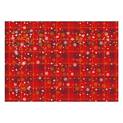 393-238 Скатерть праздничная, 180х108см, полиэтилен, 30мкм, арт 1-1