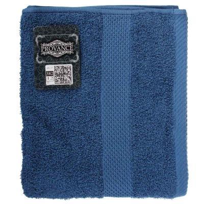 489-197 PROVANCE Наоми Полотенце махровое, 100% хлопок, 50х90см, 360гр/м, синий