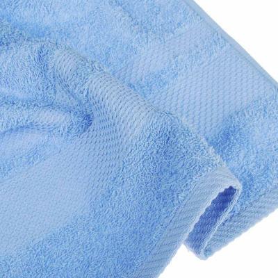 484-934 PROVANCE Наоми Полотенце махровое, 100% хлопок, 70х130см, 360гр/м, нежно-голубой