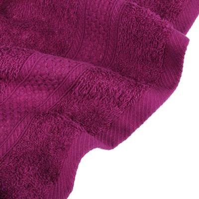 484-938 PROVANCE Наоми Цветные истории Полотенце махровое, 100% хлопок, 70х130см, 360гр/м, сливовый