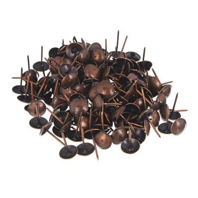 639-062 Гвозди мебельные усиленные 100гр, 167шт, медь, металл