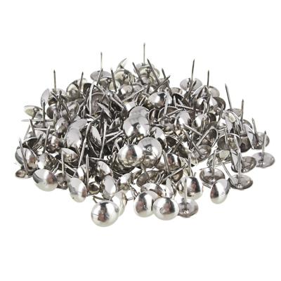 639-063 Гвозди мебельные усиленные 100гр, 167шт, хром, металл