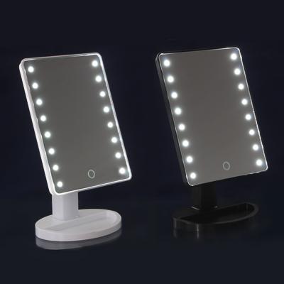 347-095 Зеркало с LED-подсветкой ЮниLook, 16,7х27 см, 2-3 цвета