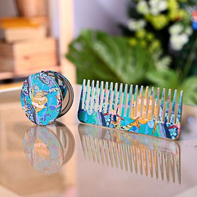 300-011 SEA Расческа-гребень, пластик, 15,4см