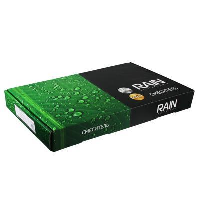 561-288 RAIN Смеситель для кухни Аквамарин, однорычажный, гибк изл., карт. 35мм, гайка, латунь, хром