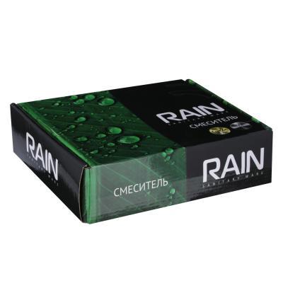 561-293 Смеситель для раковины RAIN Малахит, однорычажный, хром