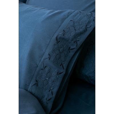 421-263 PROVANCE Вивьен Комплект пост белья с вышивкой 1,5 (4пр.), полисатин, ПЭ, 85 гр/м, 4 цвета