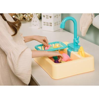 294-116 ИГРОЛЕНД Раковина, посуда, продукты, функция вода, 2хАА, PVC, ABS, 19 пр., 34х24х9 см, 4 дизайна