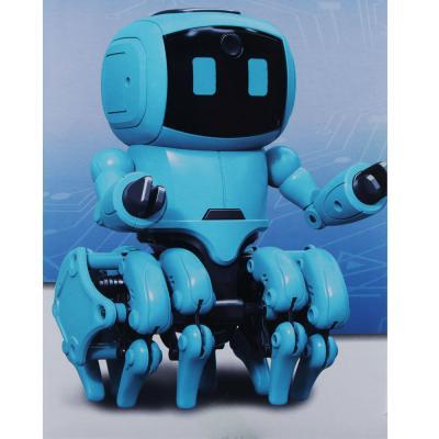 """265-568 ИГРОЛЕНД Конструктор """"Умный робот"""", движение, свет, звук, 4ААА, ABS, 28,8х12,5х23см"""