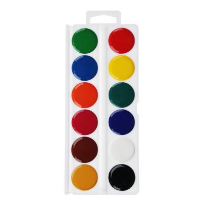 231-029 Мото Фэктори Акварель медовая, 12 цветов, без кисточки, в пластиковой упаковке