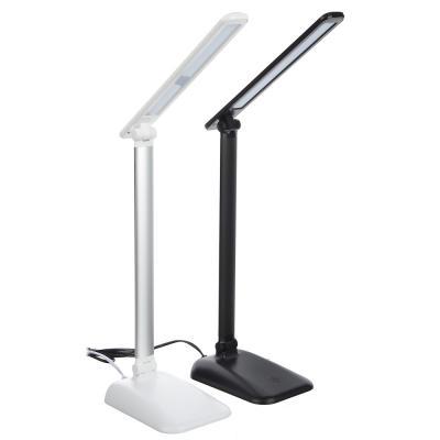 Лампа настольная, 24 LED, 5Вт, с сенсор. выкл., 360 Лм, АБС пластик, металл, 2 цвета-2