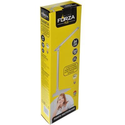 Лампа настольная, 24 LED, 5Вт, с сенсор. выкл., 360 Лм, АБС пластик, металл, 2 цвета-5