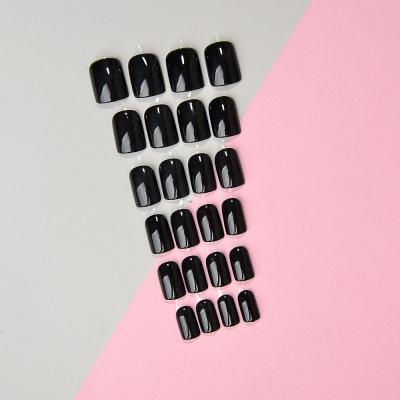 305-315 Накладные ногти на клеевой основе ЮниLook, 24 пластины, 6-12 цветов