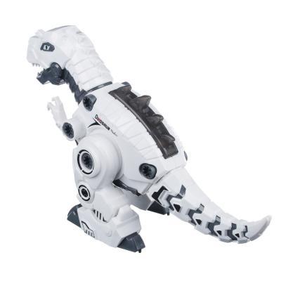"""859-059 ИГРОЛЕНД Конструктор """"Робо-Динозавр"""", свет, звук, движение, 2АА, пластик, 36х17-20х11,5см, 3 дизайна"""