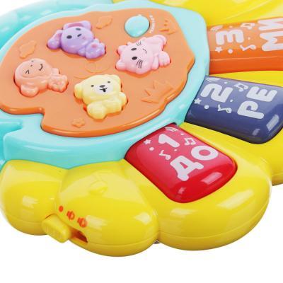 272-694 ИГРОЛЕНД Игрушка Пианино обучающее, свет, звук, 2ААА, пластик, 11х4,5х15см