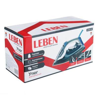 249-035 LEBEN Утюг с отпаривателем 2400 Вт, подошва - керамика