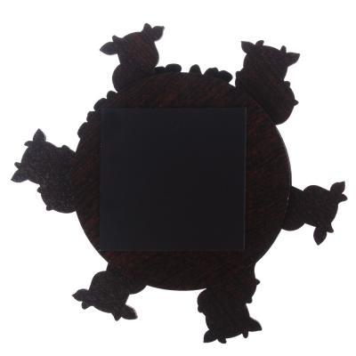 """359-756 СНОУ БУМ Магнит """"Пожелания"""", трехслойный, с крутящимся элементом и 4 пожеланиями, хдф, бумага"""