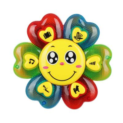"272-698 ИГРОЛЕНД Игрушка музыкальная ""Цветик Семицветик"", свет, звук, пластик, 3ААA, 12х12х2,4см"