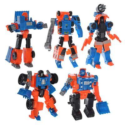 296-071 ИГРОЛЕНД Робот трансформирующийся в стр. технику, пластик, 17х22х5,5-7см, 5 дизайнов