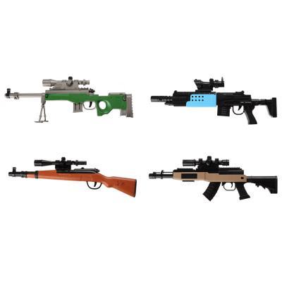 261-692 ИГРОЛЕНД Мини-оружие с пулями гидрогель, ABS, 31,5х10,5х2,7см, 4 дизайна