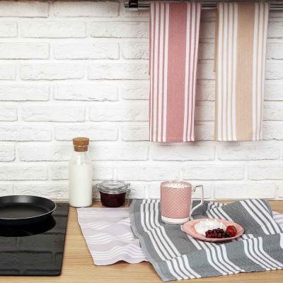 434-104 PROVANCE Гармония Полотенце кухонное пестротканное, 100% хлопок, 40х60см, 260гр/м, 4 цвета