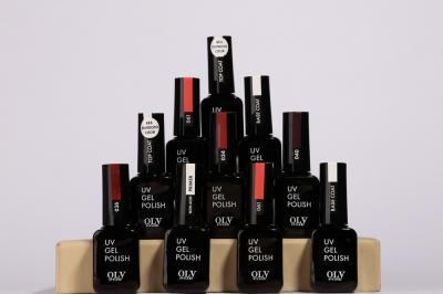 021-001 Гель-лак для ногтей OLYSTYLE, 10 мл, 12 цветов