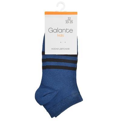 019-097 GALANTE Носки детские укороченные, 78 % хлопок, 20 % спандекс, 2 % латекс, р.16-22, G013