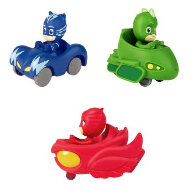 260-028 PJMasks Игрушка для ванны, пластизоль, пластик, 12х13х4см, 3 дизайна