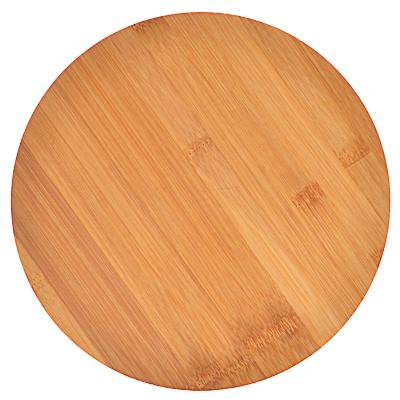 851-180 VETTA Гринвуд Доска разделочная бамбук, круглая, 26х0,9см