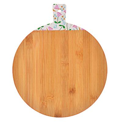 851-181 VETTA Гринвуд Доска разделочная бамбук с принтом, 30х25х1,0см