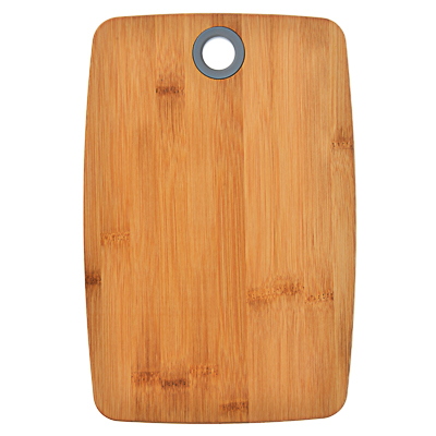 851-182 VETTA Гринвуд Доска разделочная бамбук, силикон, 30х20х1,0см