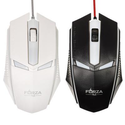 Мышь компьютерная проводная игровая, 1200 dpi, 130см, пластик-5