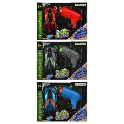 293-077 ИГРОЛЕНД Автомобиль-стенолаз с ИК пультом, ABS, 27,5х21х8см, 3 дизайна
