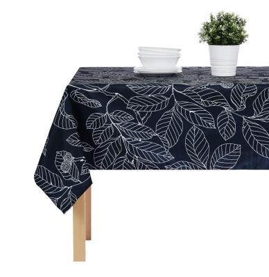 435-087 PROVANCE Гармония Скатерть текстильная с водоотталкивающей пропиткой, 140x140см, 100% ПЭ, 4 дизайна