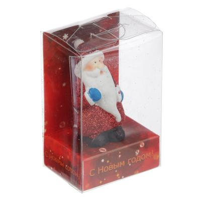 396-605 СНОУ БУМ Фигурка Деда Мороза, полистоун, 8,6х5,8х4,2см, 4 дизайна