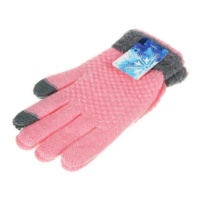 363-253 Перчатки молодежные контактные, р-р 20, 100% акрил, 4-6 цветов, ПВ2020-14