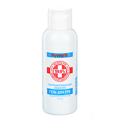 911-017 Гель для рук с антибактериальным эффектом MySeptik, 110мл