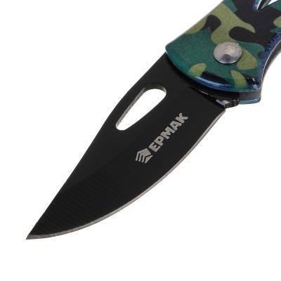 118-159 ЧИНГИСХАН Нож туристический складной 13,5см, нерж.сталь, арт.1