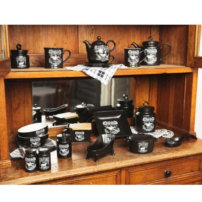 824-446 MILLIMI Ранчо Горшочек для запекания 360мл, 15x12,5x9см, керамика