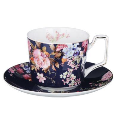 802-011 MILLIMI Японский сад Набор чайный 2 пр., 260мл, костяной фарфор, 4 дизайна