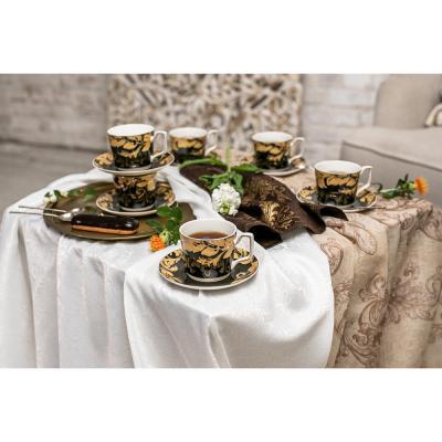 802-025 MILLIMI Император Набор чайный 12 пр., 260мл, костяной фарфор