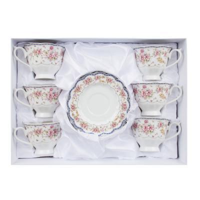 802-039 MILLIMI Мария Набор чайный 12 пр., 220мл, костяной фарфор