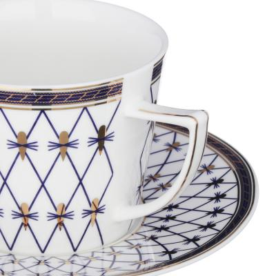 802-043 MILLIMI Монте-Кристо Набор чайный 4 пр., 250мл, костяной фарфор